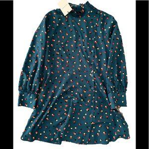Who What Wear Candy Dots Mini Dress Sz XL NWT